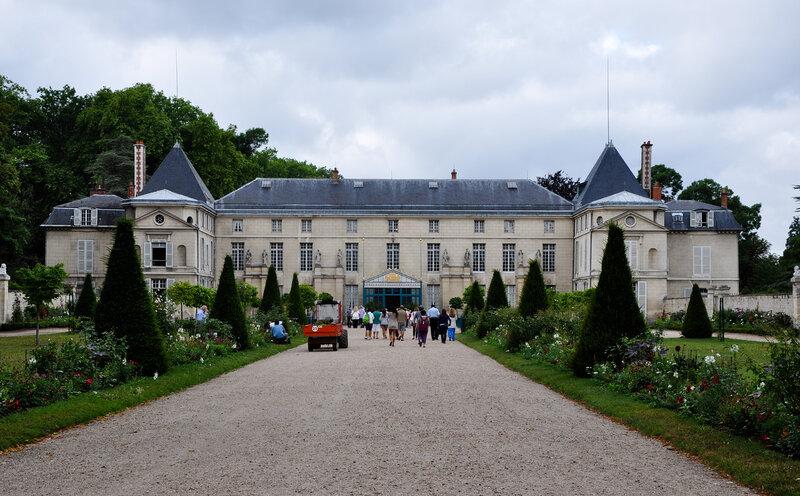 Замок Мальмезон в Рюэй-Мальмезон (Rueil-Malmaison), Иль-де-Франс (Île-de-France)