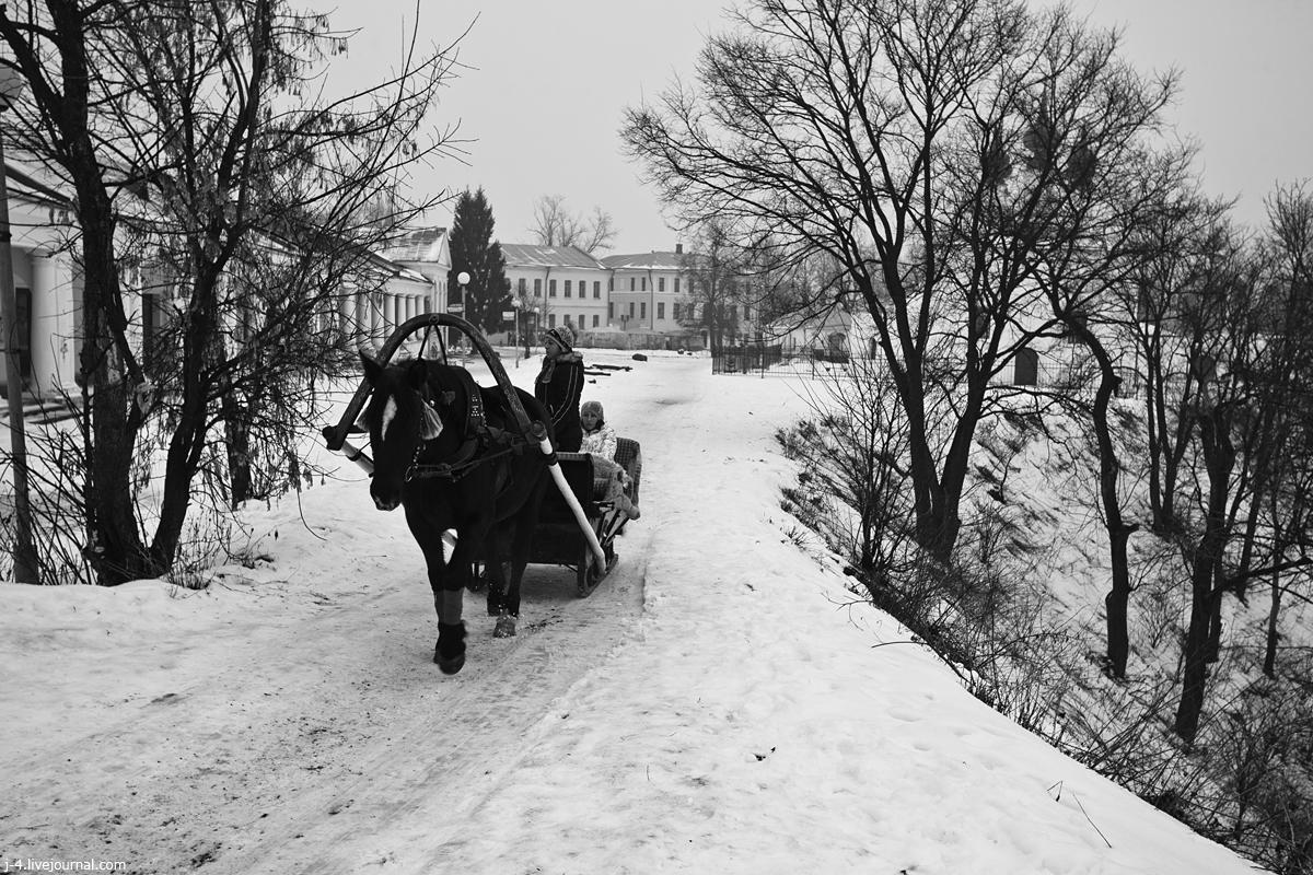 фотопутешествия, фототуризм, фото, Суздаль, зима, ч/б