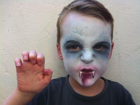 Идеи страшного макияжа на Хэллоуин
