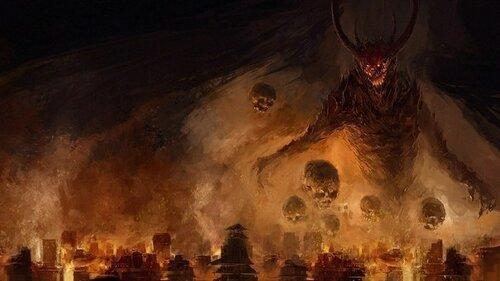 11 страшных злых монстров из мировых религий
