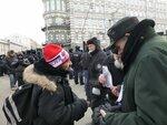 Шествие в поддержку Болотной 02.02.2014