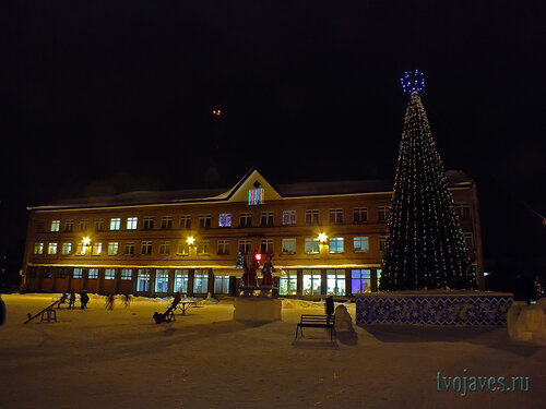 Фото города Инта №6402  Северная сторона Горького 23