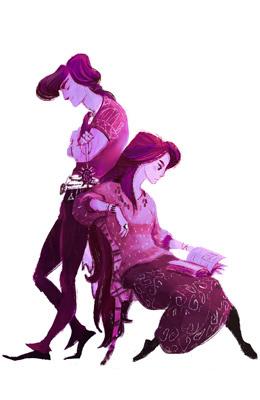 Фиолетовые_портрет