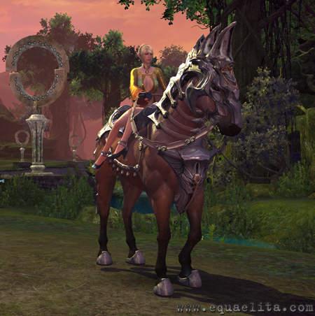 Лошадь в Tera Online