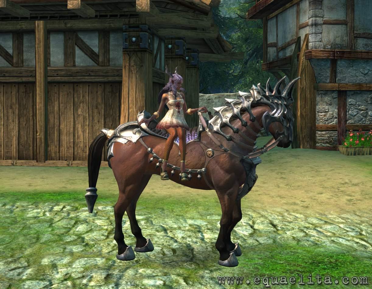 Лошадь начального уровня в mmorpg TERA Online