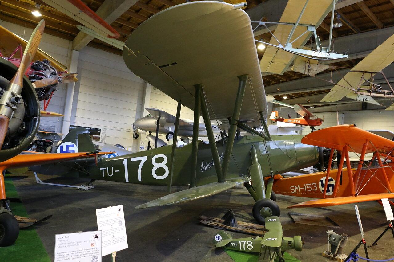 VL Tuisku. Finnish Aviation Museum, Vantaa