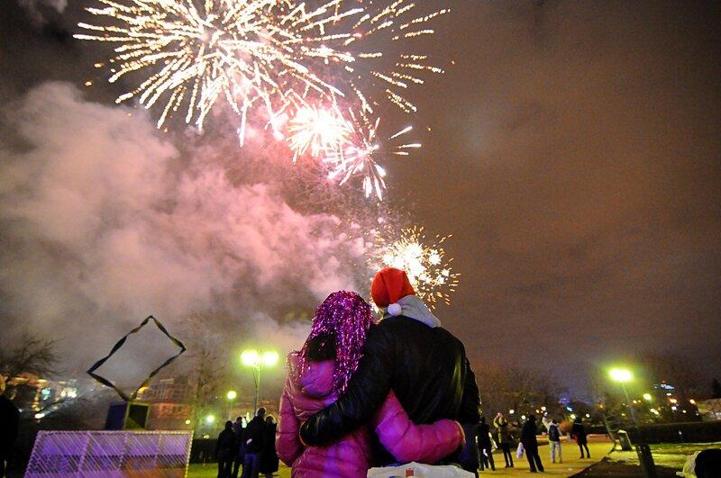 Новый год в парке Музеон
