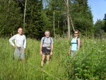 Позади 10 км лесного массива