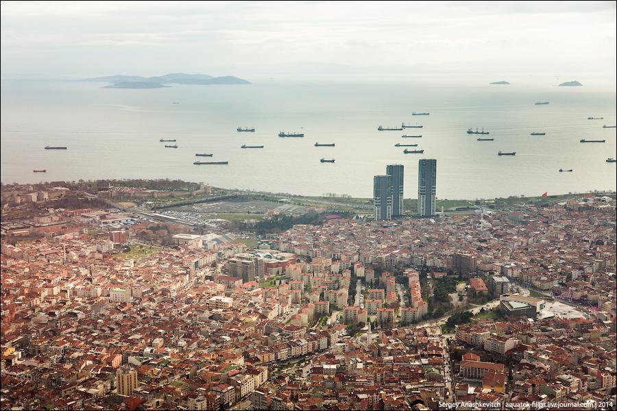Полет над крышами Стамбула