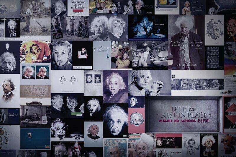 Дайте ему упокоиться с миром - Альберт Эйнштейн