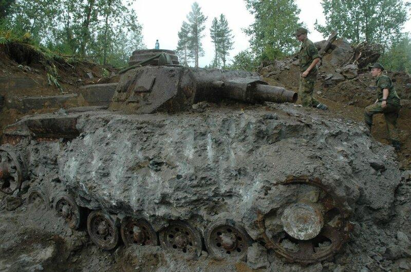 PzIII из Pz Abt 211 в Норвегии - Вторая мировая война - Сайт кладоискателей Relichunter.ru