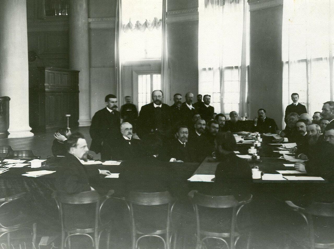 Заседание членов 1 отдела по проверке полномочий