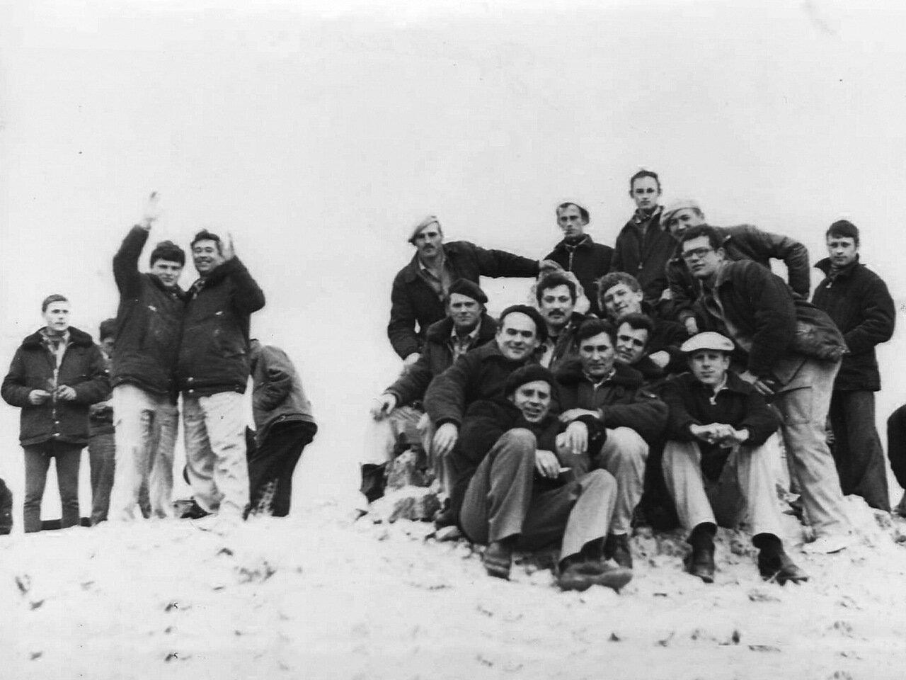 1978, 1 января.Сирия. На горе Сулеймана
