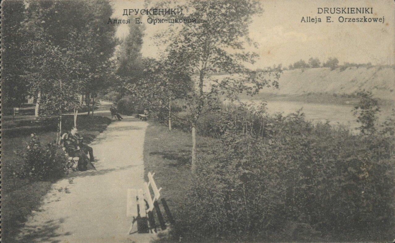 Аллея Е. Ожешко. 1914