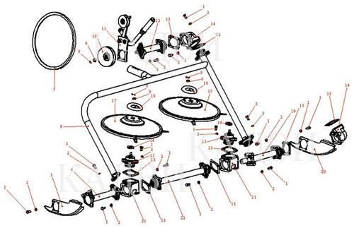 Как сделать роторную косилку к мотоблоку