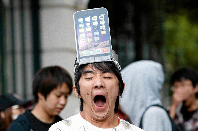 Как мир сходит с ума от iPhone6