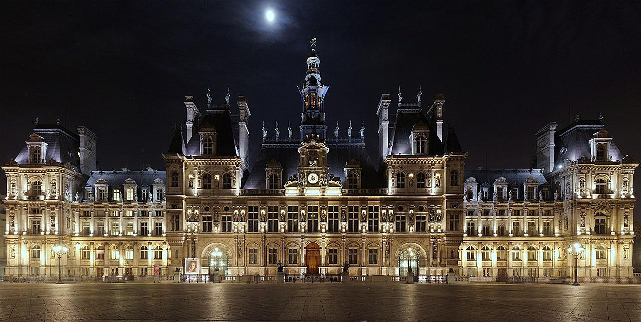 Парижская ратуша_(Отель-де-Виль) - 1280.