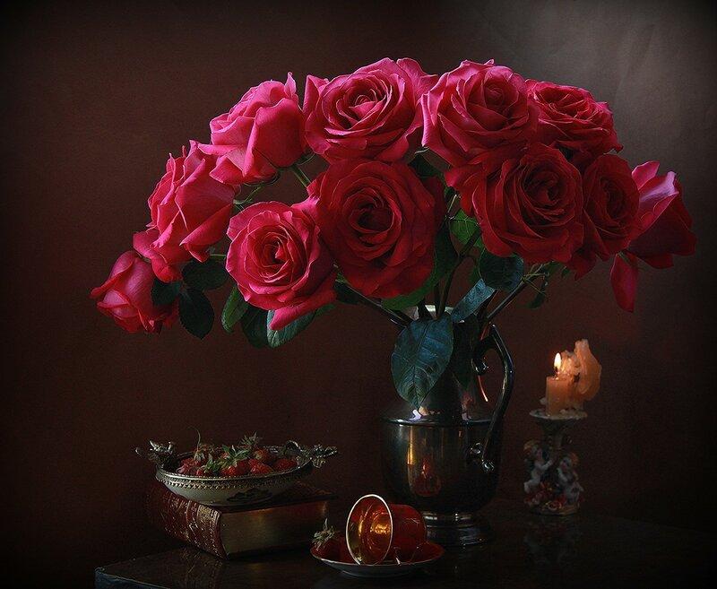 С ароматом роз