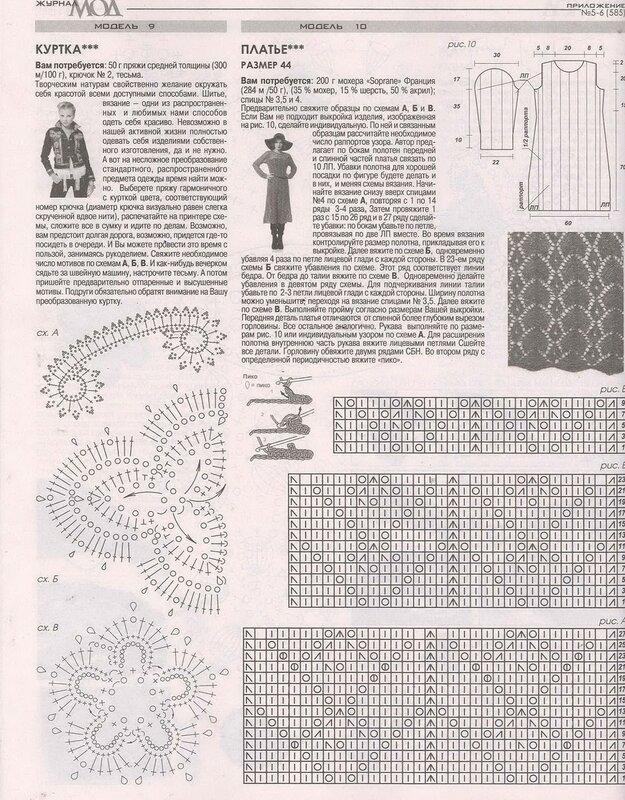 Просмотр журналов схем вязания 848