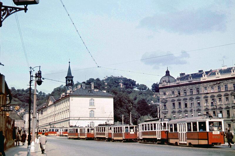 1942c Cross-road Prague Klarov1.jpg