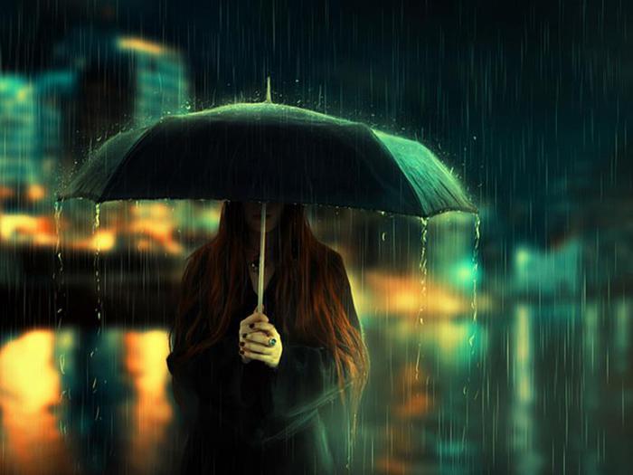 «Я укроюсь в дождь, растворюсь в дожде…»