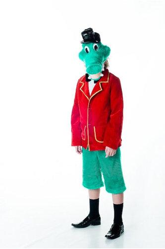 Детский карнавальный костюм Крокодил Гена