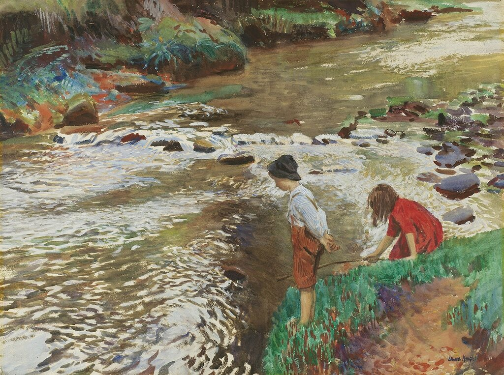 Dame Laura Knight - The Two Fishers - 40234-20.jpg