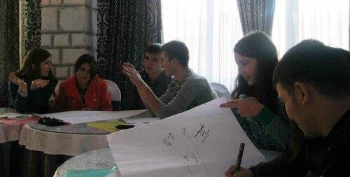 Заседание дискуссионного евроклуба в Комрате. 16 ноября 2013 год