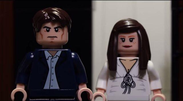 Фильм «50 оттенков серого» сделали конструктором Lego