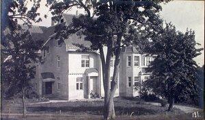 Вид дома, где размещался санитарный отдел штаба XII армии.