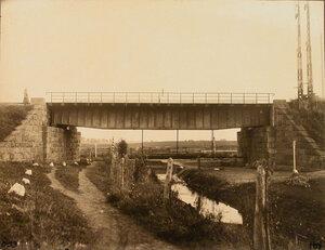 Вид моста на прусской границе. Сувалкская губ. Владиславовский уезд. Вержболово г.