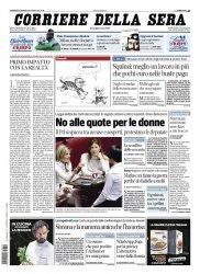 Журнал Il Corriere della Sera (11.03.2014)