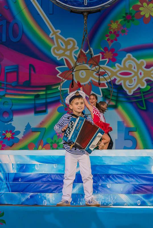 Фестиваль Творчество юных в Анапе