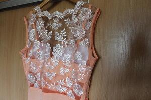 Как сшить платье на сетке 49