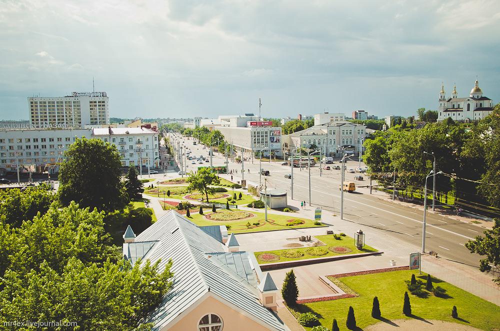 итебск, Духовской Круглик, смотровая площадка