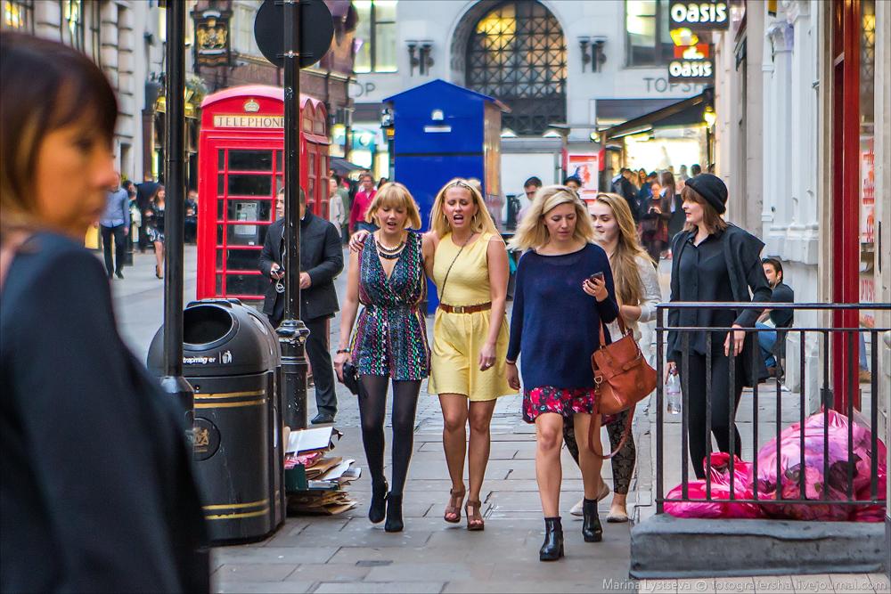 Лондон в лицах