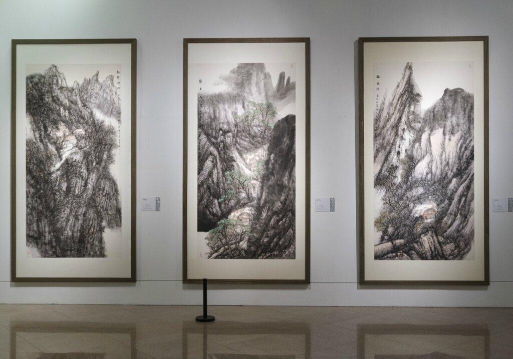 Пейзажи Хань Цзинвэя
