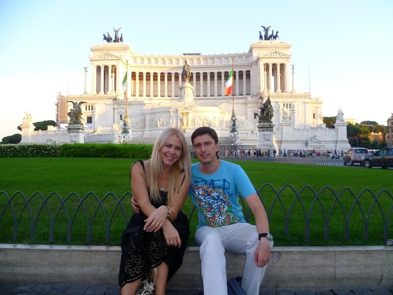 Рим, монумент Виктора Эммануила (Rome Monument of Victor Emmanuel)