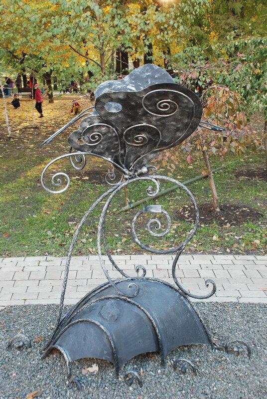 Скульптура в Парке Кованых Фигур (Донецк, Украина)