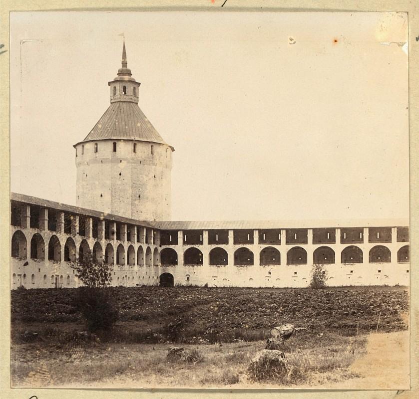 С.М. Прокудин-Горский - Кирилло-Белозерский монастырь. 1909 г.