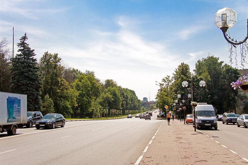 Улица Мира.