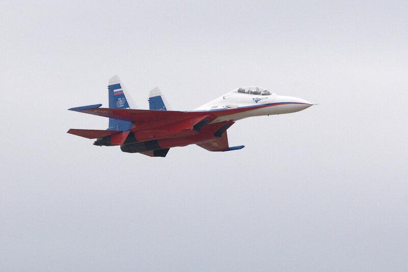 Су-30 в горизонтальном полёте