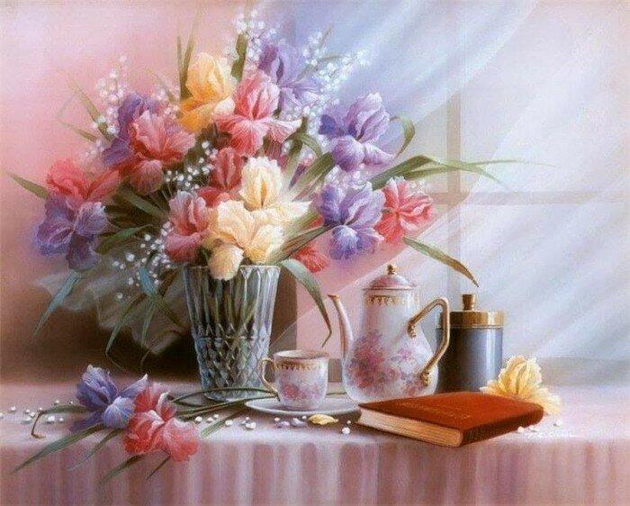 В мире цветов Тан Чун Чиу