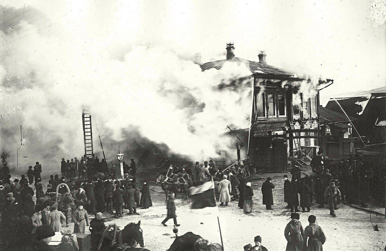 Пожар в гостинице Золотой якорь