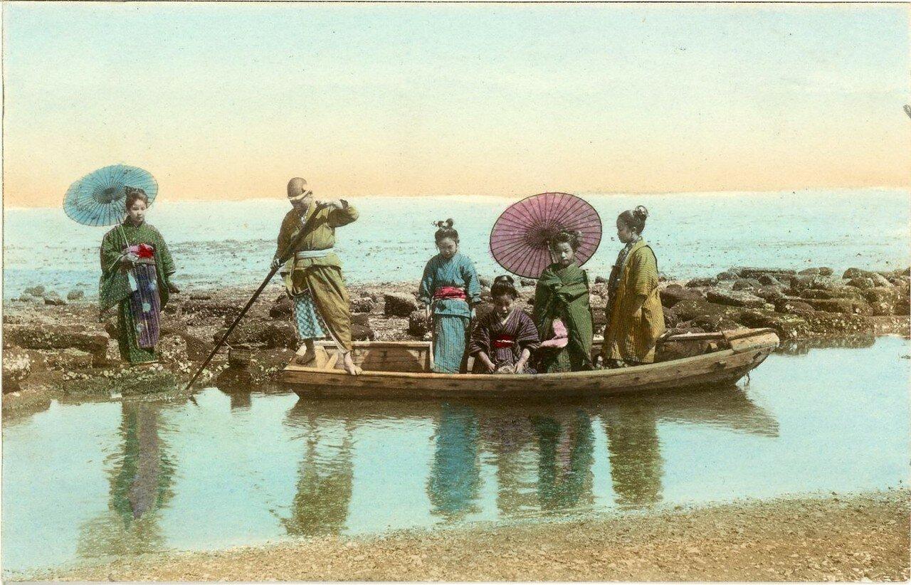 Прогулка на лодке