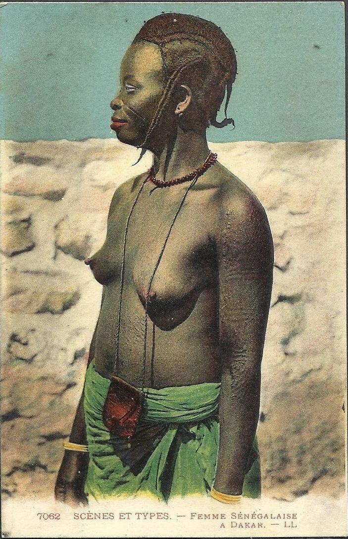 7062. Сенегал.  Девушка из Дакара