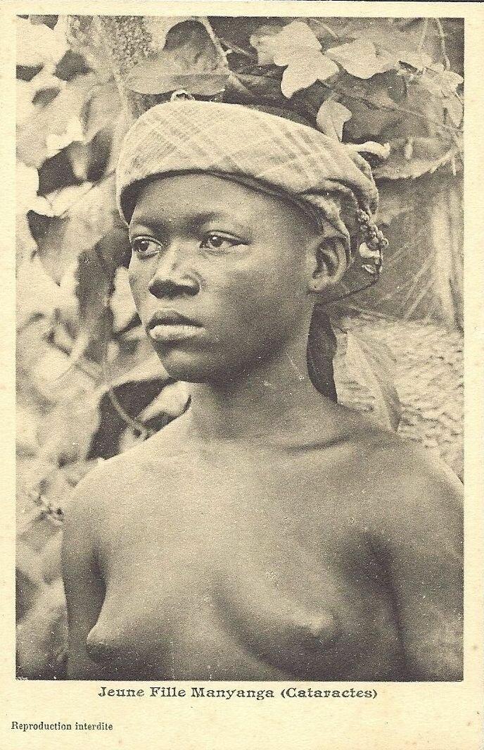 девушка племени манянге