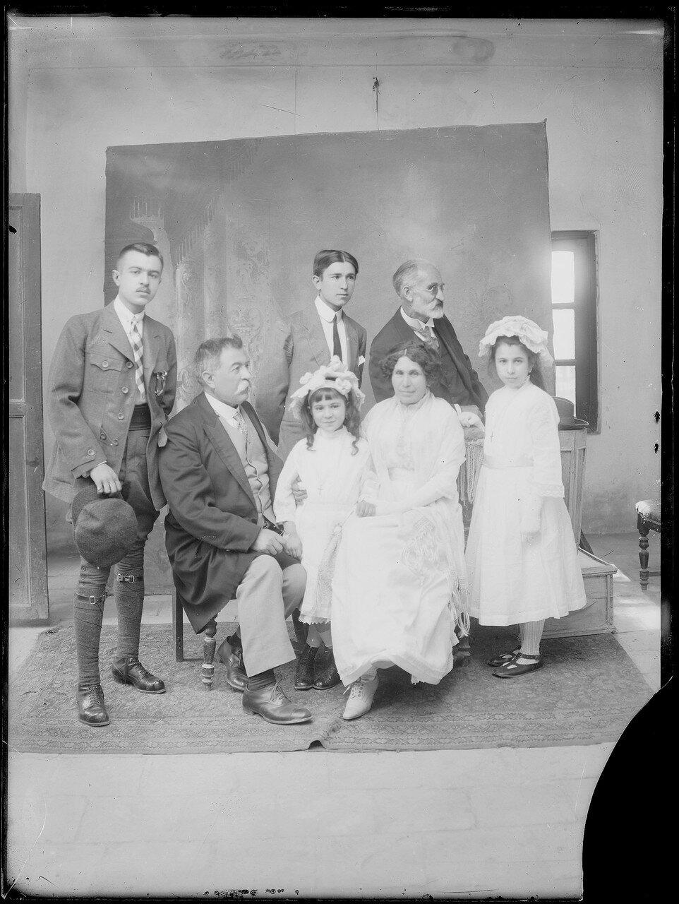 Семья Севрюгина