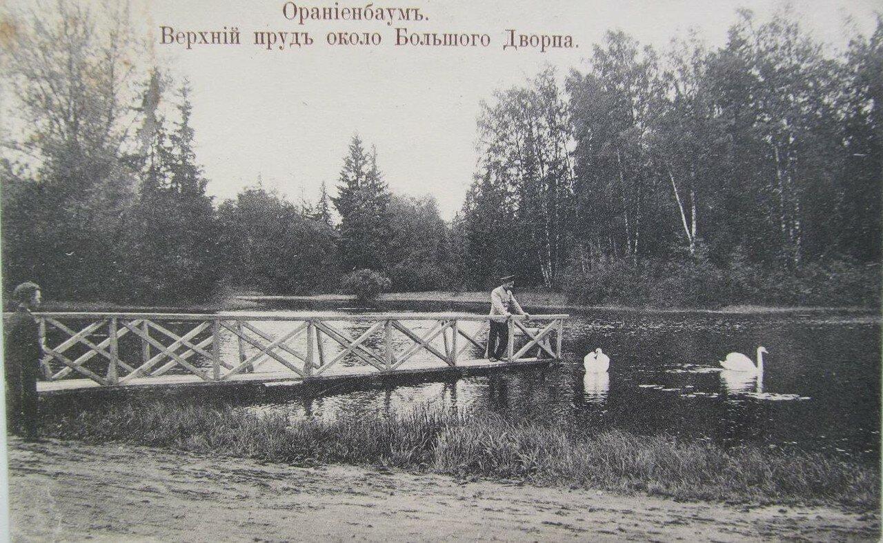 Верхний пруд около Большого Дворца