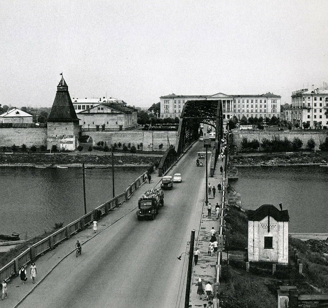 1960-е. Ольгинский мост